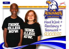 Atkinson Elementary website
