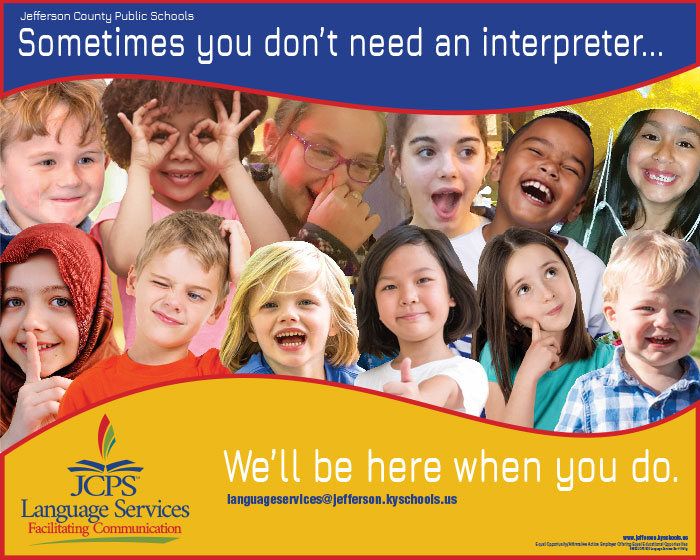Sometimes you don't need an interpreter. We'll be here when you do.