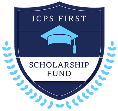 j c p s Employee sponsored student scholarship fund logo with donate button